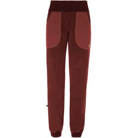 E9 Iuppi Naiset Pitkät housut , punainen